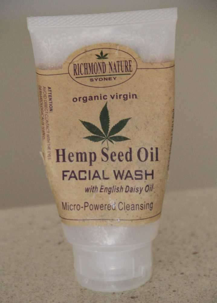 Richmond Nature Hemp Seed Oil Facial Wash Richmond Nature Hemp Seed Oil Facial Wash Product Review