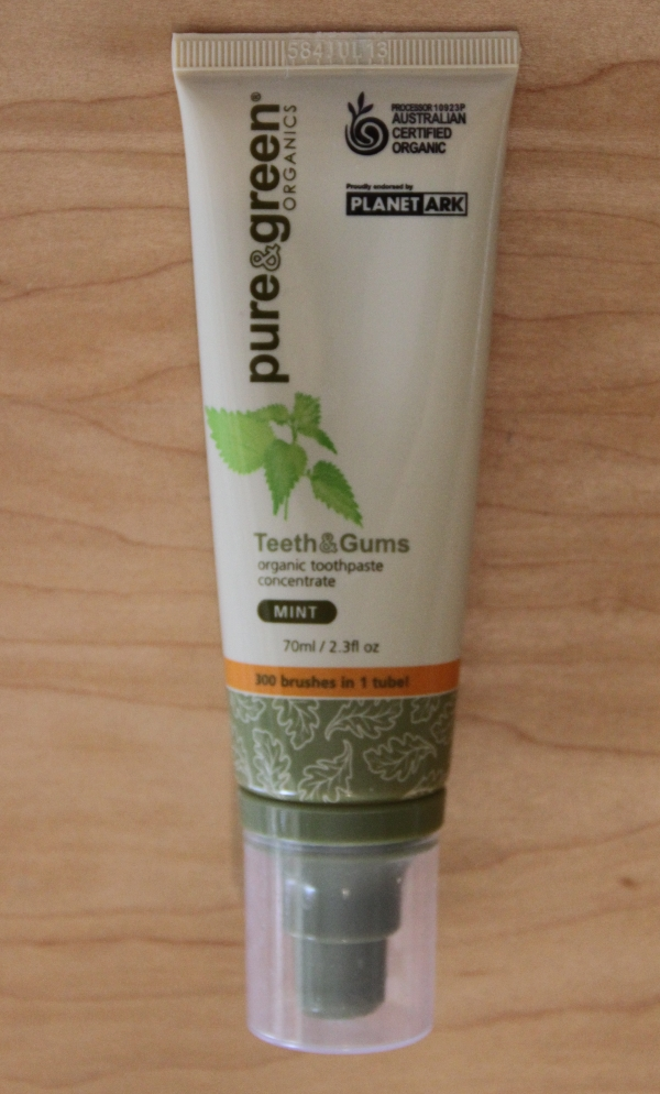Pure Green Organics Teeth Gums Pure & Green Organics Teeth & Gums Product Review
